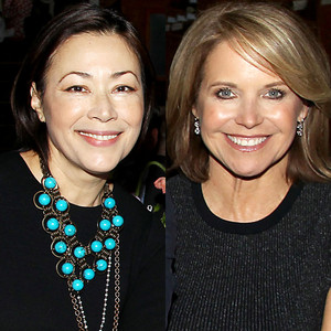 Ann Curry, Helen Mirren, Katie Couric