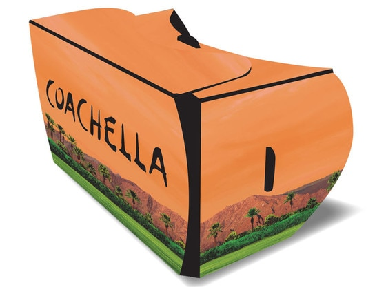 Coachella Virtual Reality Cardboard Viewer