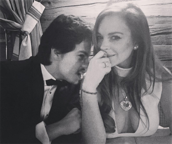 who is dating lindsay lohan now