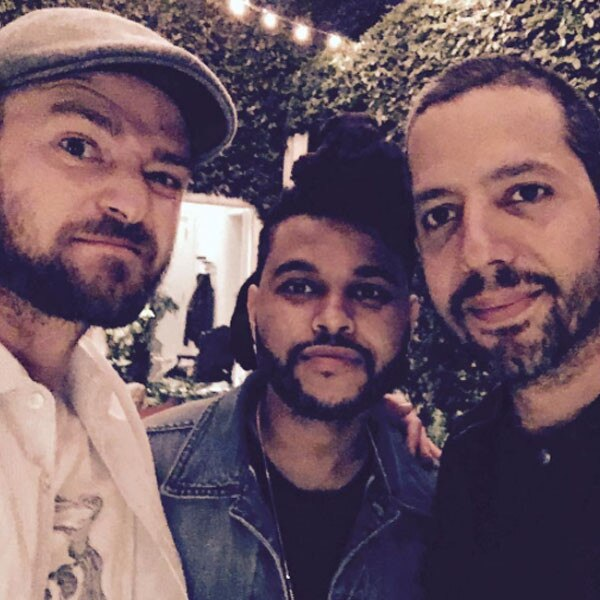 Justin Timberlake, The Weeknd, David Blaine