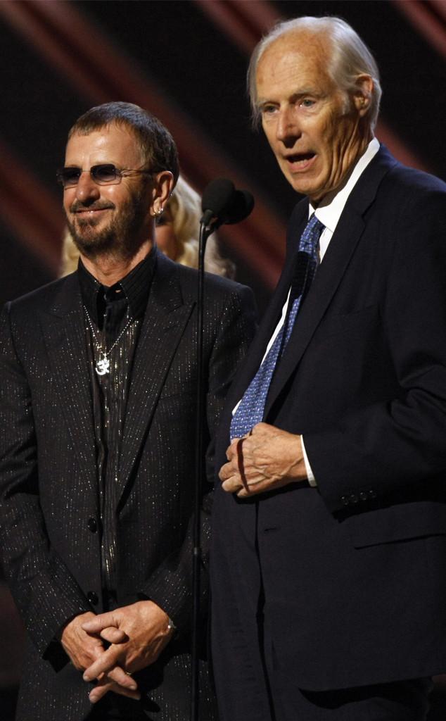 Ringo Starr, George Martin