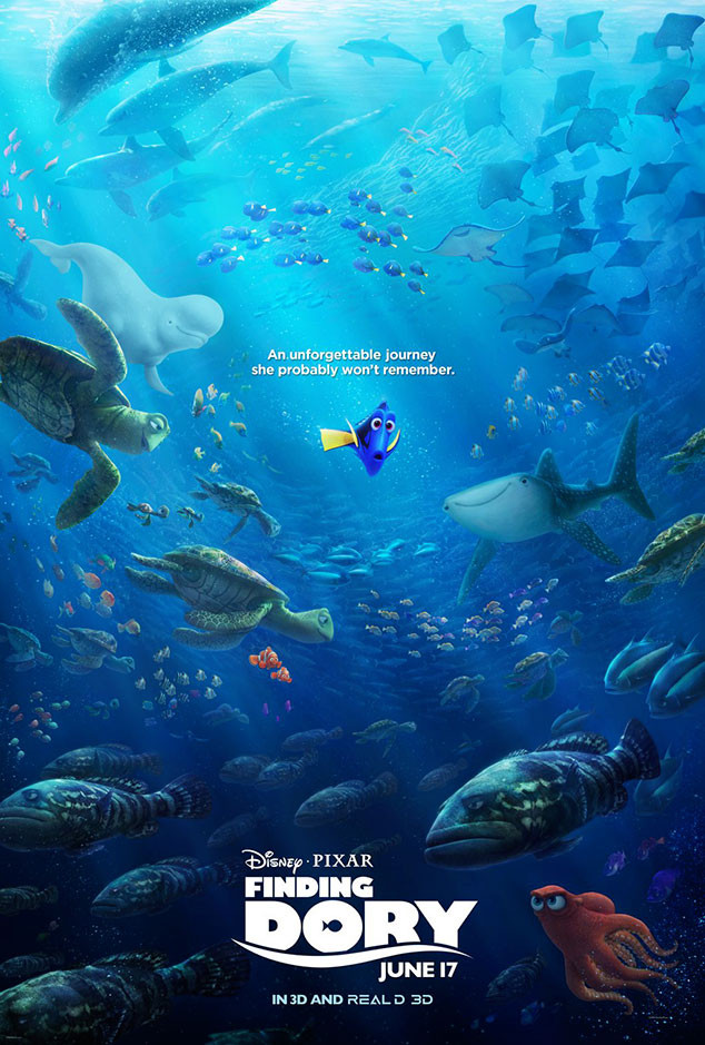 Finding Dory, Poster