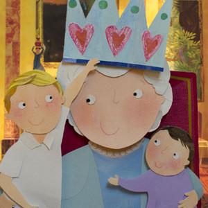 Queen Elizabeth, The Birthday Crown, Children's Book, Prince George, Princess Charlotte