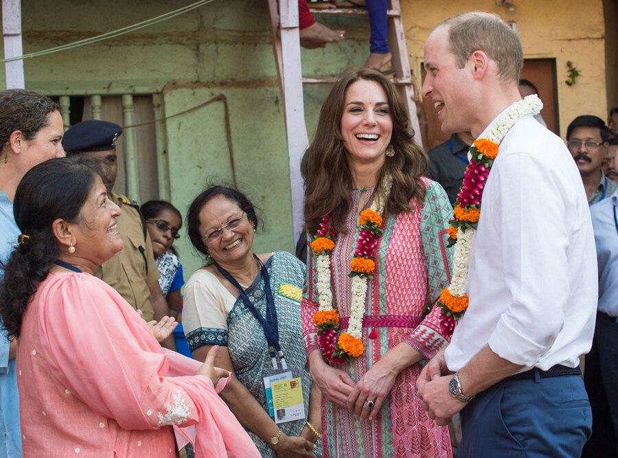 Catherine, Duchess of Cambridge, Prince William, Duke of Cambridge, India