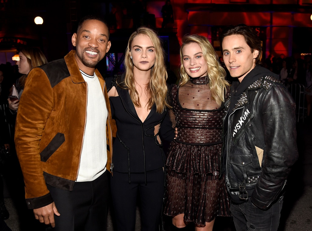 Will Smith, Cara Delevingne, Margot Robbie, Jared Leto, MTV Movies Awards 2016, Backstage And Audience