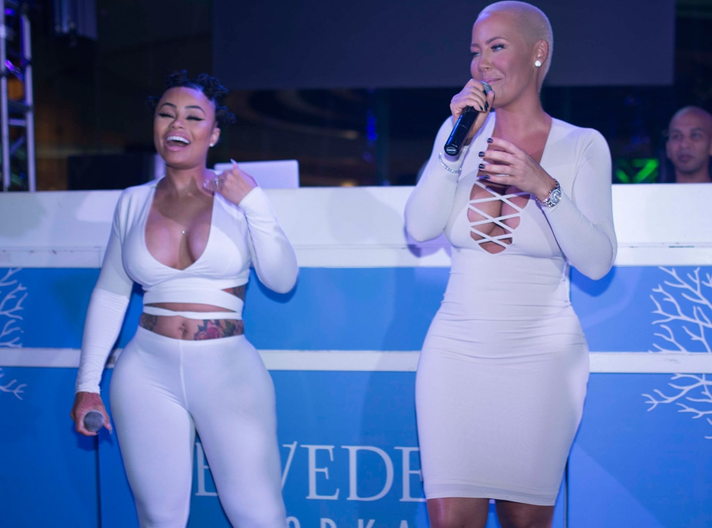 Blac chyna and amber rose think, that