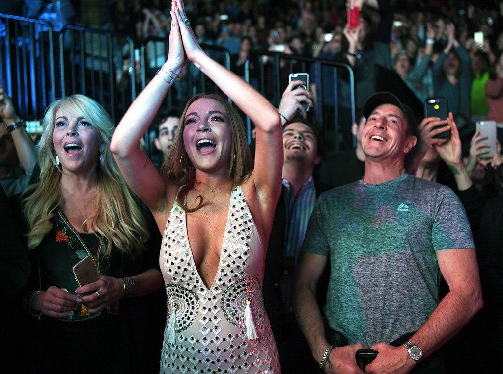 Lindsay Lohan, Dina Lohan, Michael Lohan