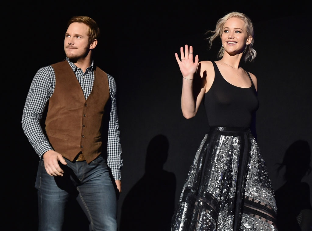 Chris Pratt, Jennifer Lawrence, CinemaCon