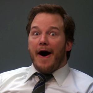 Chris Pratt, Parks and Rec, Shocked face