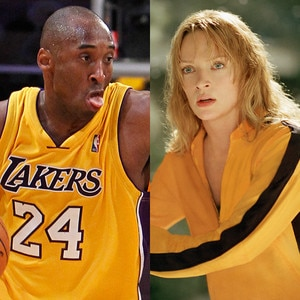 Kobe Bryant, Uma Thurman, Kill Bill