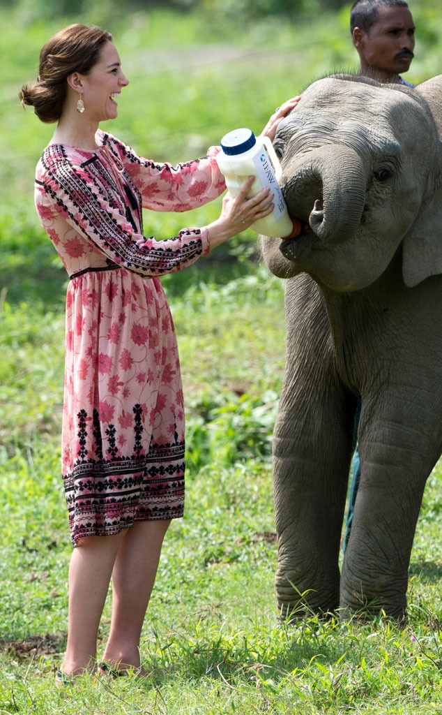 Kate Middleton, India