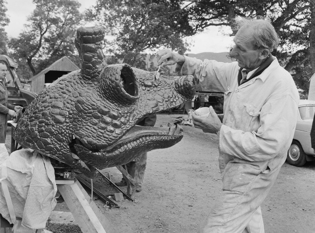 Loch Ness Monster, Movie Prop