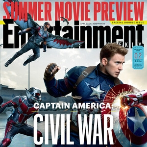 Captain America: Civil War, Entertainment Weekly