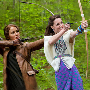 Kate Middleton, Hunger Games