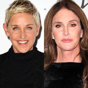 Ellen DeGeneres, Caitlyn Jenner