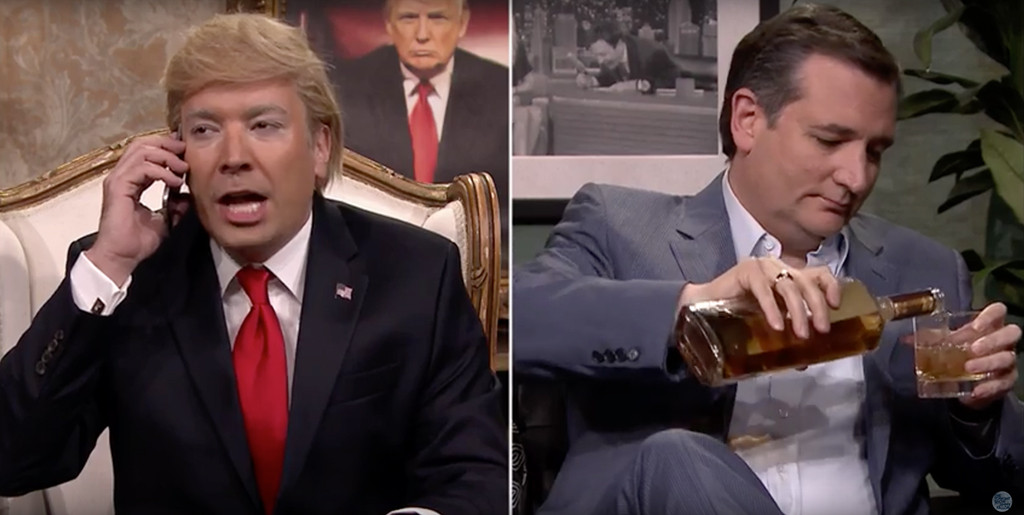 Jimmy Fallon, Ted Cruz, Tonight Show