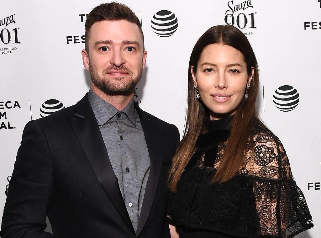 Justin Timberlake, Jessica Biel, Tribeca Film Festival