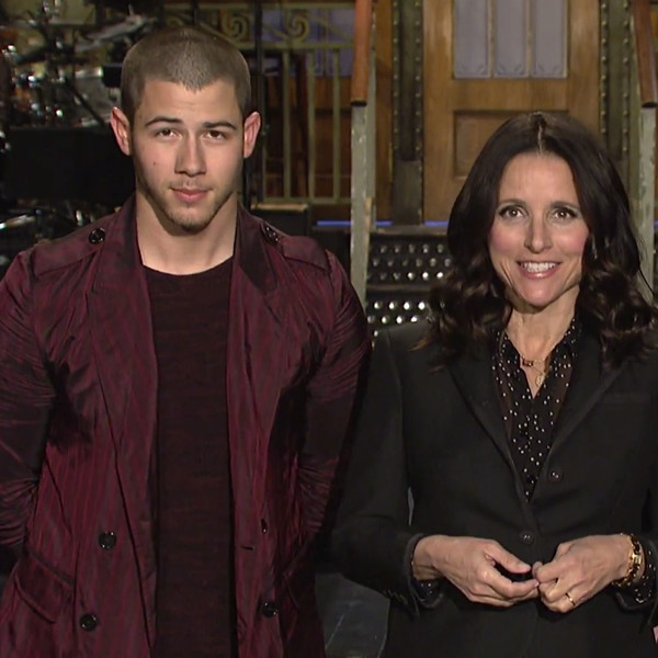 Saturday Night Live, Nick Jonas, Julia Louis-Dreyfus