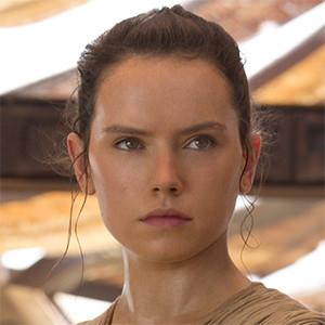 Daisy Ridley, Rey, Star Wars: The Force Awakens