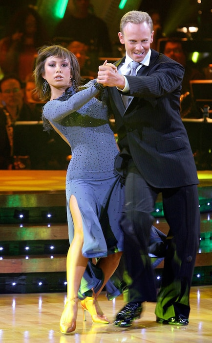 Dancing With The Stars: Ian Ziering, Cheryl Burke