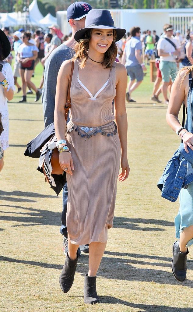 Jamie Chung From Coachella 2016 Star Sightings E News