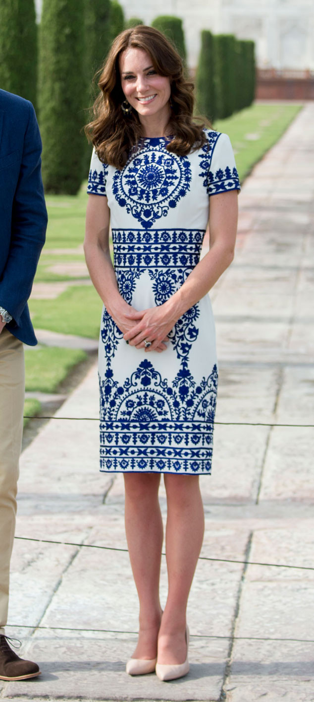 Prince William, Kate Middleton, Taj Mahal