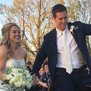 Shawn Johnson, Andrew East, Wedding