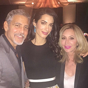 George Clooney, Amal Clooney, Hillary Clinton Fundraiser