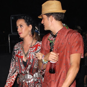 Katy Perry, Orlando Bloom, Coachella