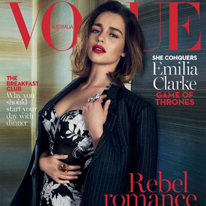 Emilia Clarke Vogue Australia