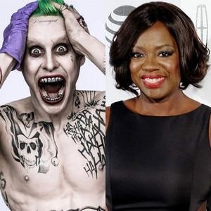 Viola Davis, Joker, Jared Leto
