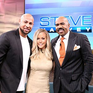 Hank Baskett, Kendra Wilkinson, Steve Harvey