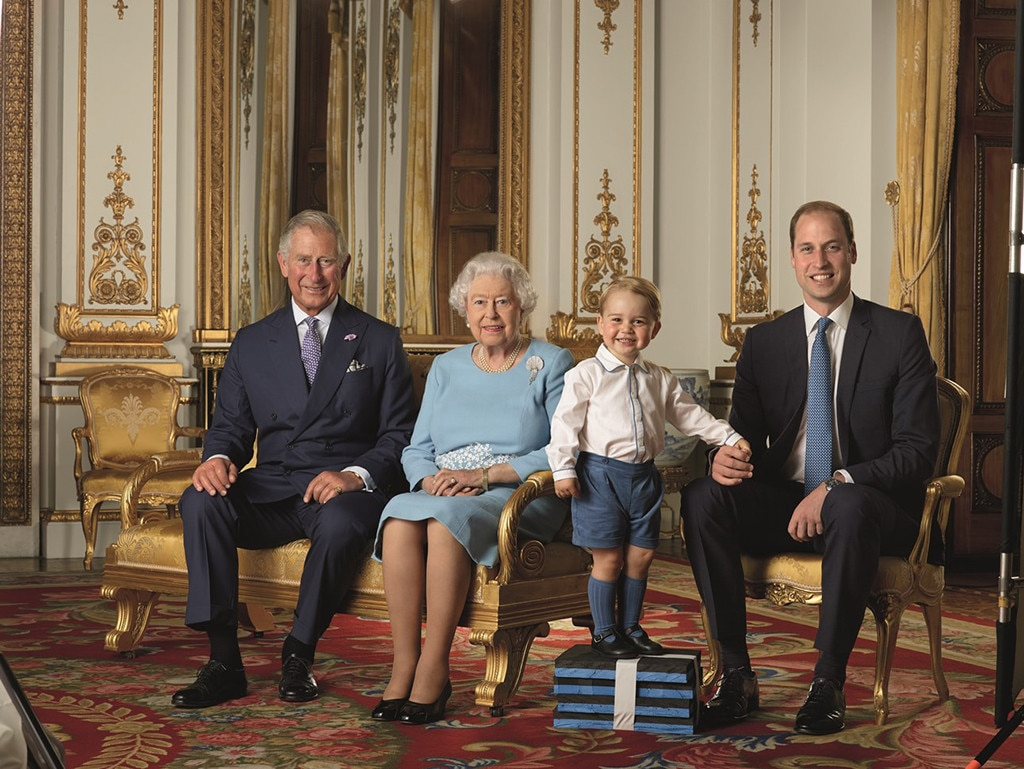 Queen Elizabeth, Prince George, Prince William, Royal Mail Stamps