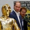 Prince William & Prince Harry Filmed a Secret, Naughty <i>Star Wars</i> Scene With Daisy Ridley