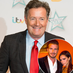Piers Morgan, Victoria Beckham, David Beckham