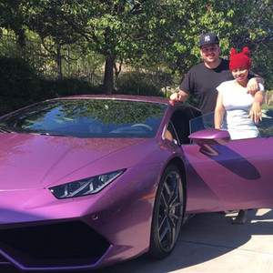Rob Kardashian, Blac Chyna, Lamborghini