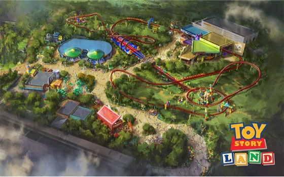 Get a sneak peak at Disney World's new Toy Story Land