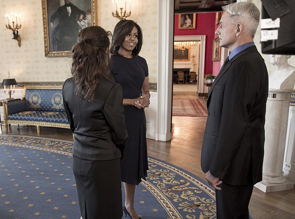 Michelle Obama, NCIS