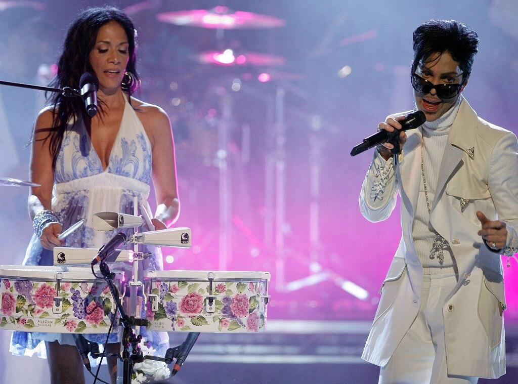 Prince, Musician, Drummer Sheila E., 2007