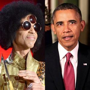 Prince, Barack Obama