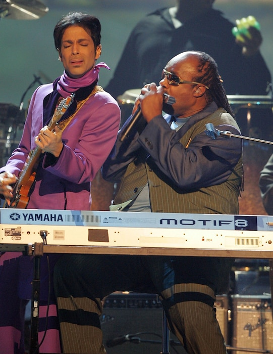 Prince, Musician, Stevie Wonder, BET Awards 2006