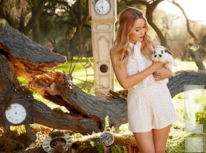 Lauren Conrad, Alice in Wonderland, Kohl's, EMBARGO'D