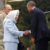 Barack Obama, Michelle Obama, Queen Elizabeth, Prince Phillip