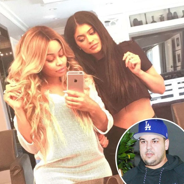 Rob Kardashian, Blac Chyna, Kylie Jenner, Instagram