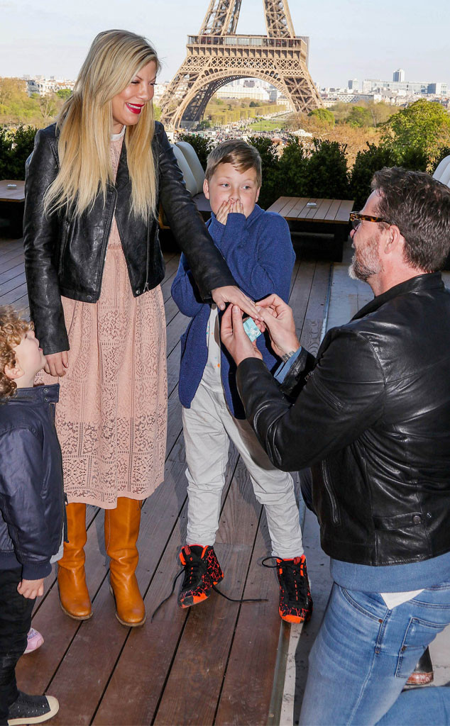 Tori Spelling Gets Another Marriage Proposal From Dean
