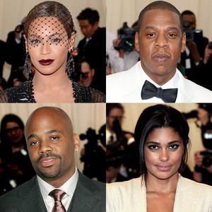 Beyonce, Jay-Z, Damon Dash, Beyonce