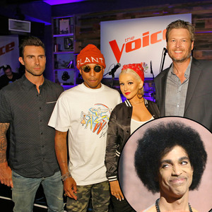 The Voice, Prince Tribute