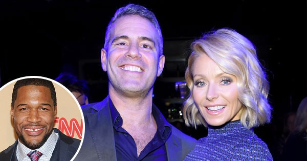 Andy Cohen, Kelly Ripa, Michael Strahan
