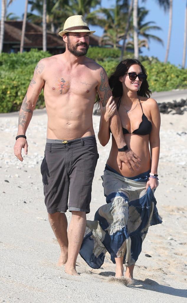 Megan Fox enceinte profite d'une escapade sexy à Hawaii ...