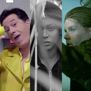 Stephen Colbert, Beyonce, James Corden